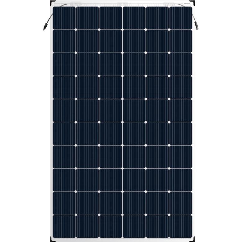 Corrugated Alu-Zinc Steel Double Glass Solar Panel Bifacial - MONOCRYSTALLINE Bifacial Dual-Glass MODULE 300-320 Watt – Luck Solar Featured Image